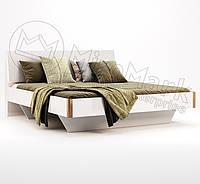 Кровать Ники 160*200 без каркаса с мягкой спинкой ТМ Миро Марк