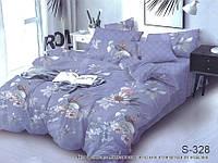 Евро комплект постельного белья с компаньоном на молнии S328
