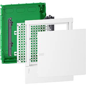 Щит мультимедійний вбудовуваний Schneider Mini Pragma 2 ряди 12 модулів IK07 63А IP40