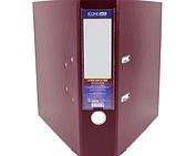 Папка-регистратор Economix Lux A4, 70 мм, бордо, фото 2