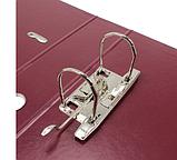 Папка-регистратор Economix Lux A4, 70 мм, бордо, фото 3