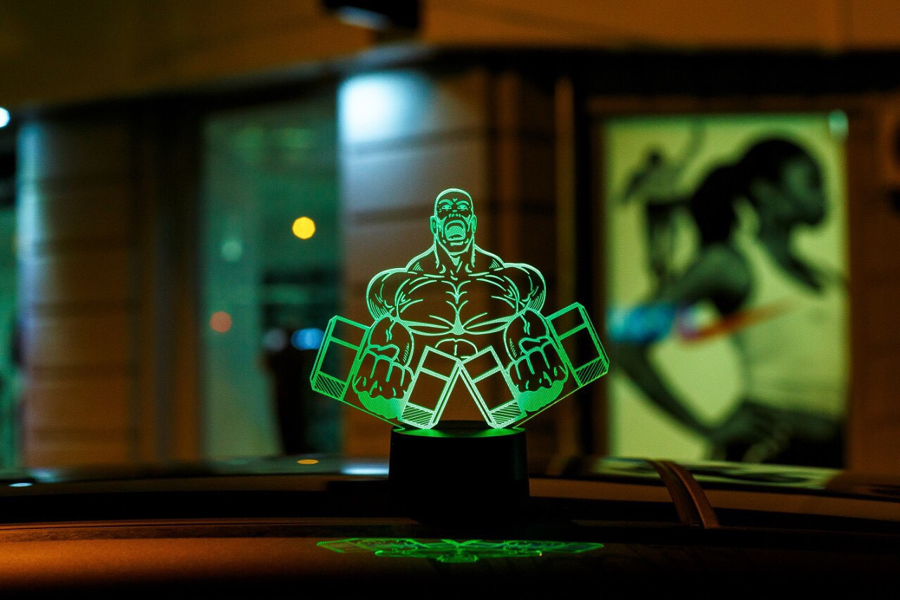 "3D светильник ""Культурист 2"" 3DTOYSLAMP"
