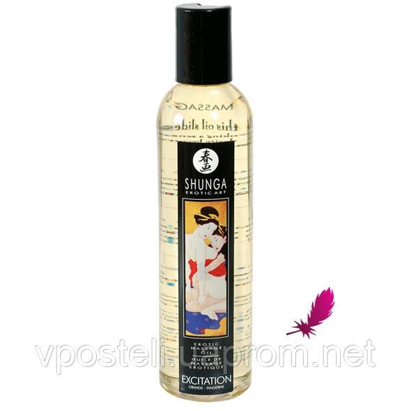 Масажне масло Shunga (персик)
