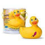 Маленький внешний вибратор уточка I Rub My Duckie, фото 2
