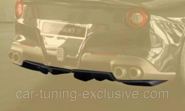 MANSORY rear add-on diffuser for Ferrari F12 Berlinetta