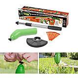 Портативний тример для садового декору Zip Trim, ручна бездротова газонокосарка для трави Зип Трим, фото 3