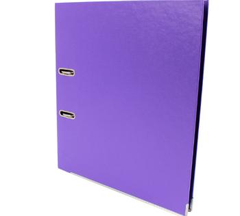 Папка-регистратор Economix Lux A4 70 мм, фиолетовая E39723*-12