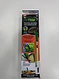 Портативний тример для садового декору Zip Trim, ручна бездротова газонокосарка для трави Зип Трим, фото 6