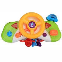 Детская игрушка руль музыкальный
