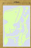 """Наклейка светящийся """"Подводный мир"""" - 15*10см, фото 3"""
