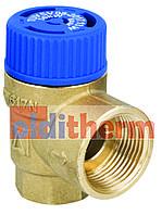 Предохранительный клапан для бойлера AFRISO, 6 BAR