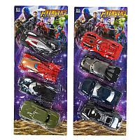 """Набор машинок """"Avengers"""" 826-193"""