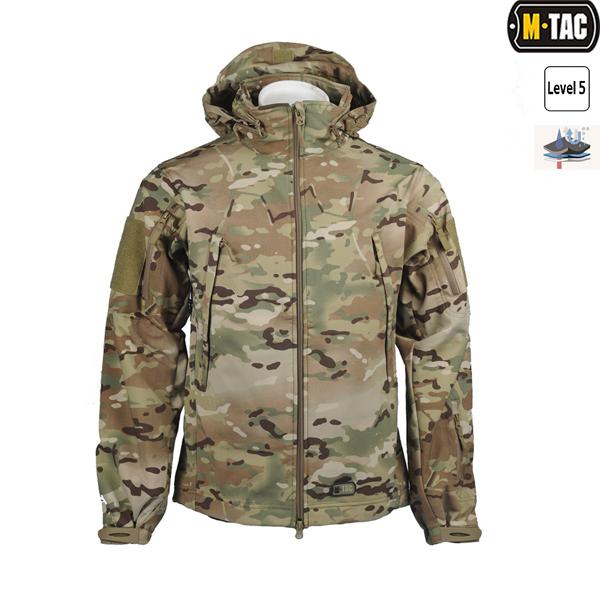 M-Tac Куртка Softshell Multicam