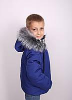 Куртка детская для мальчика Куртка зимняя детская светло синяя Новинка