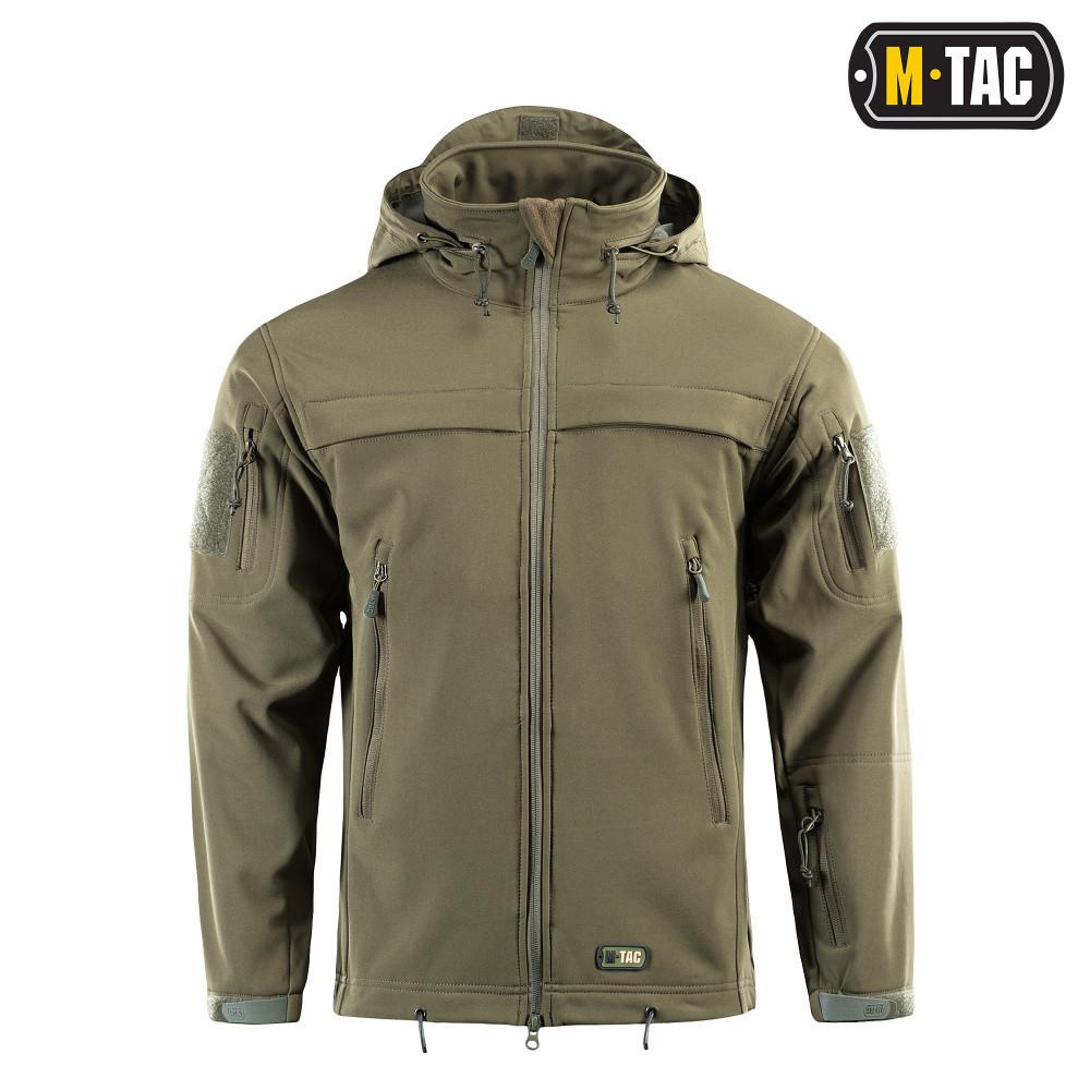 M-Tac Куртка Softshell Police олива