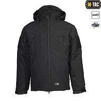 M-Tac Куртка Softshell з підстібкою Поліція чорна, фото 1