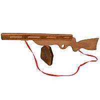 Деревянная игрушка ППШ, фото 1
