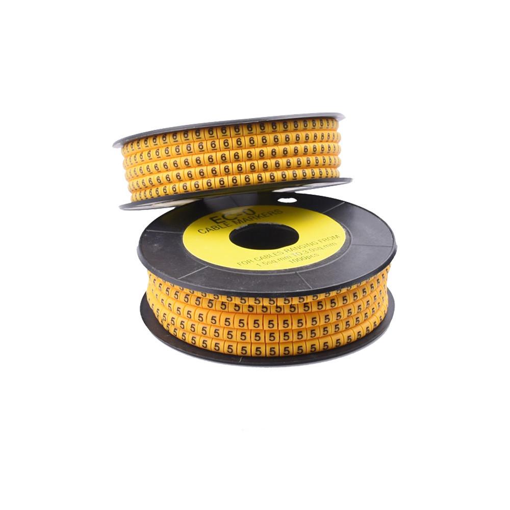 Маркування кабелю RZ ЄС-1, в асортименті