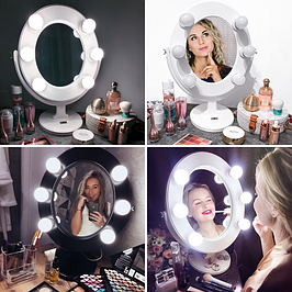 Зеркала для макияжа с подсветкой