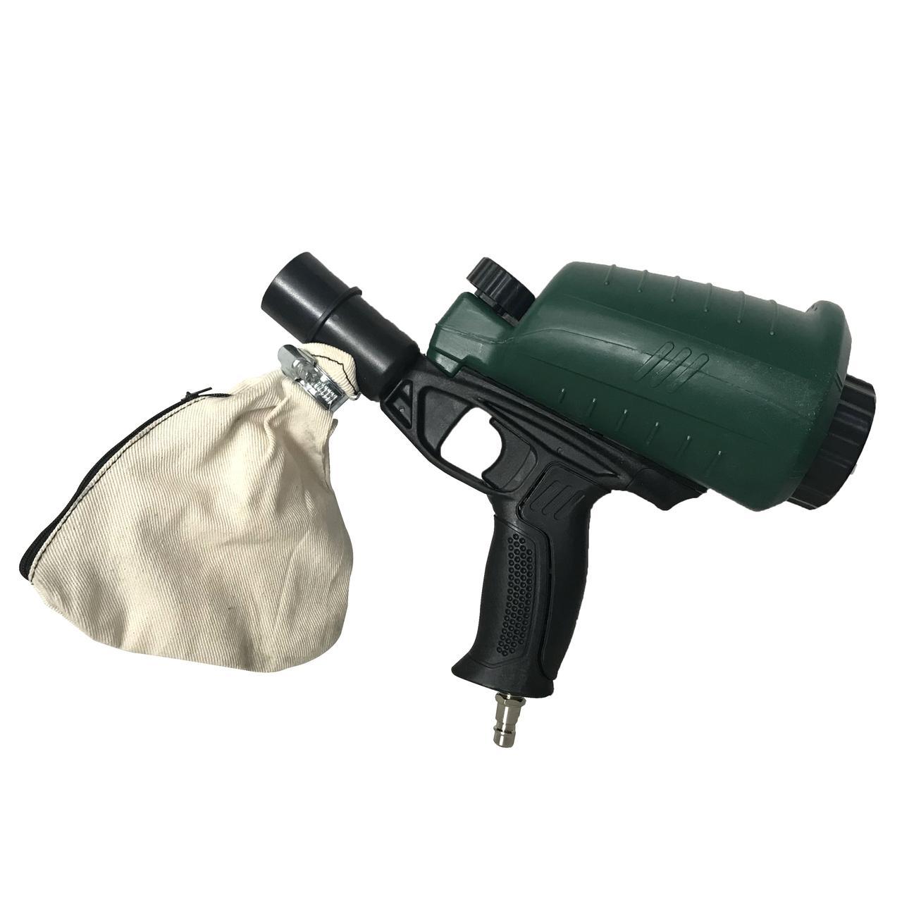 Пескоструйный пистолет Parkside (Germany) с рекуперацией, Обьем бака: 0,9 л, 320 литр / в минуту