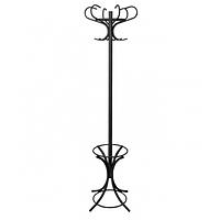 Вешалка напольная Venezia black (Венеция черная)