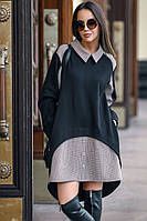 Модное женское платье свободного кроя «Надин»