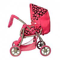 Детская коляска трансформер для кукол: люлька + корзина для игрушек