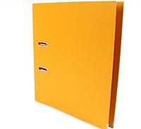 Папка-регистратор Economix Lux A4, 70 мм, желтая