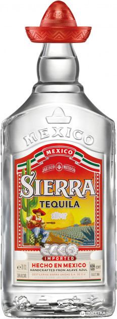 Текіла Sierra Silver 0.7 л 38%
