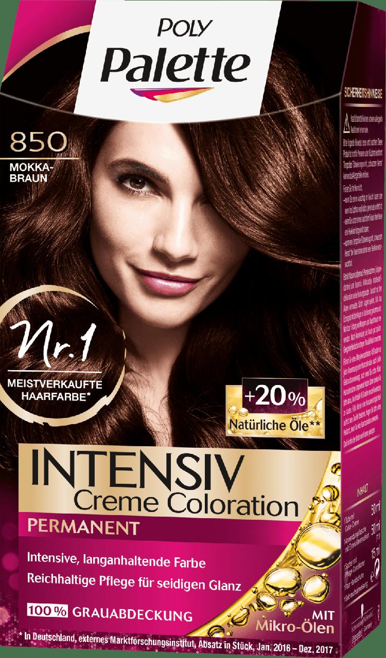 Крем - краска для волос Schwarzkopf Poly Palette, 850 Mokka Braun