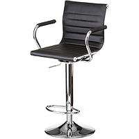 Барный стул Bar black plate E1144