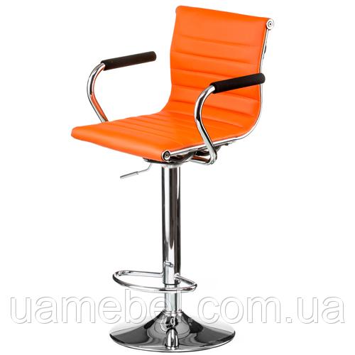 Стілець барний Bar orange plate E1137