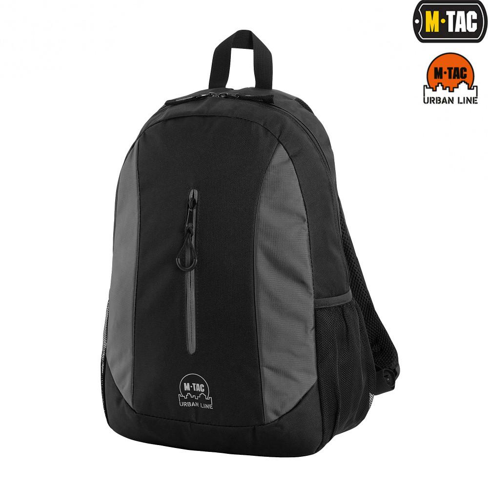 M-Tac Рюкзак Urban Line Lite Pack серый/черный