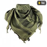 M-Tac Шарф шемаг з тризубом олива / чорний, фото 1