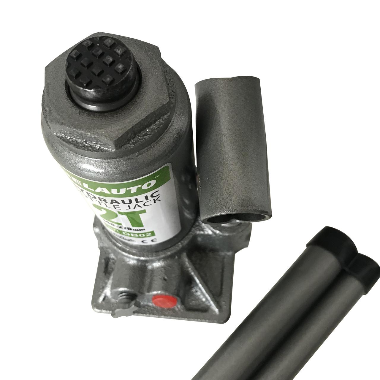 Домкрат БЕЛАВТО DB02 гидравлический (бутылочный) 2 Т, Высота подъема: 148-278 мм
