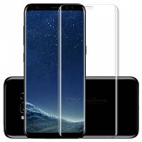 Защитное стекло Edge Glass для Samsung S8+, Silver
