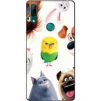 Силиконовый чехол бампер для Huawei P Smart Z с рисунком Тайная Жизнь Домашних Животных