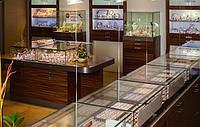 Проектирование ювелирных магазинов и изготовление индивидуальной мебели для магазинов