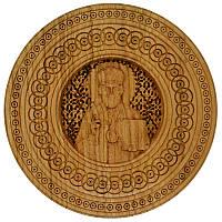 """Резная икона """"Святой Николай"""" 33 см, фото 1"""