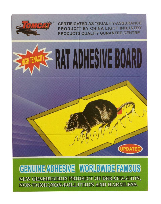 Клеевая ловушка от крыс и мышей сиреневая большая размер 32*21