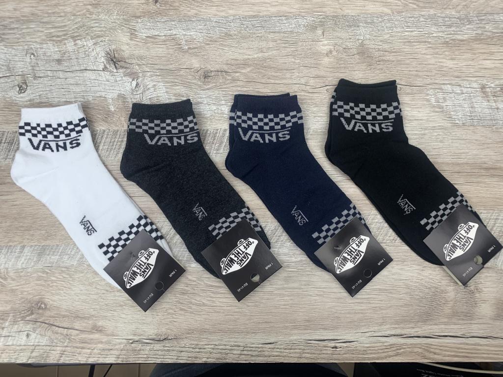 Набор  спортивных носков 12 пар, упаковка (носки в стиле VANS), 41-45 размер