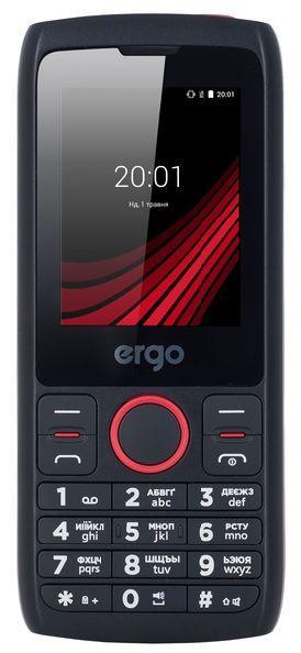 Телефон кнопочный мобильный на 2 сим карты с мощной батареей ERGO F247 Flash
