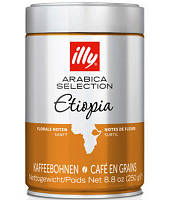 Кофе illy Ethiopia Arabica Selection / Кофе Илли Эфиопия Моноарабика ( 250 г) ж/б в зернах