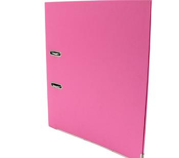 Папка-регистратор Economix A4, 50 мм, розовый