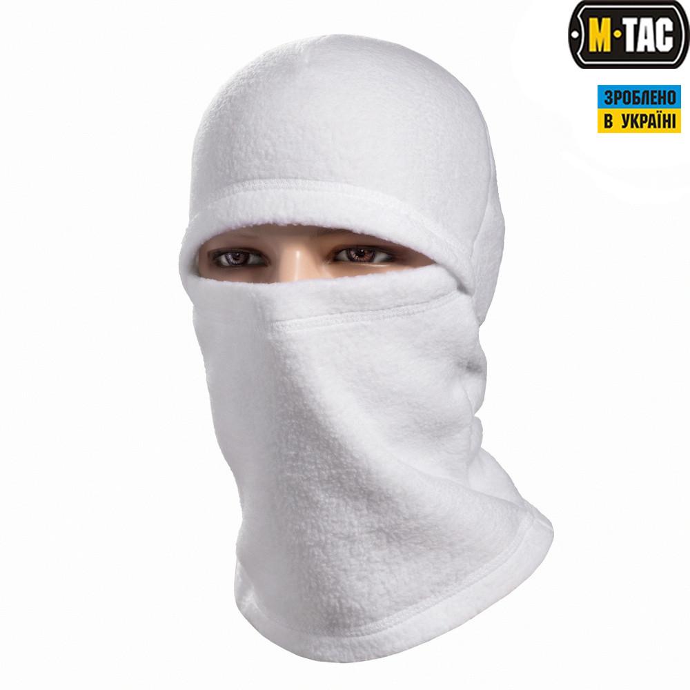 M-Tac балаклава-ніндзя Elite фліс White