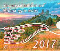 Словакия 2017. Официальный годовой набор монет