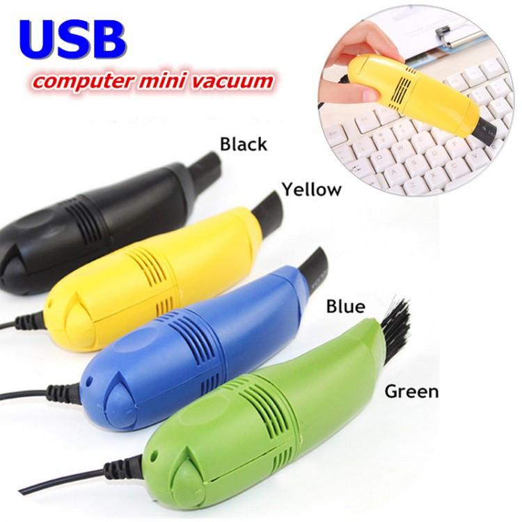 Вакуумный мини пылесос для компьютера Computer Mini Vacuum USB