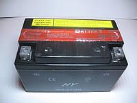 Свинцово кислотный мото аккумулятор (обслуживаемый) 12v/7Ah 6MF2-7