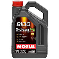 Motul 8100 X-clean FE 5W-30 5L, фото 1
