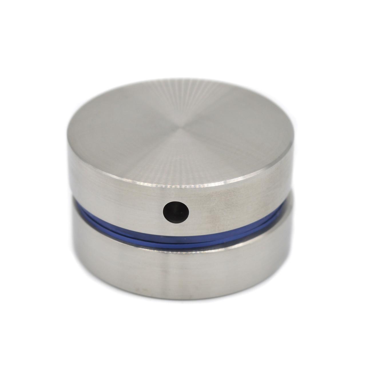 ODF-06-18-01-L10 Коннектор круглый d40 с дистанцией 10 мм с боковым отверстием М8